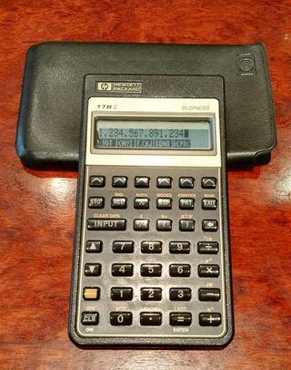 Calculadora HP 17BII