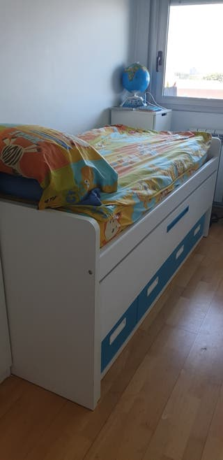 cama compacta nido
