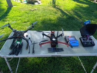 2 DRONE TBS NAZA ARDUPILOT