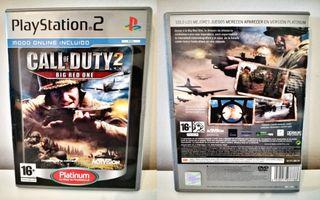 Call Of Duty 2 Para PlayStation 2