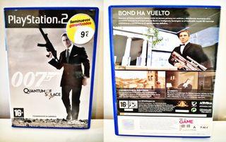 007 Quantum Of Solace Para PlayStation 2