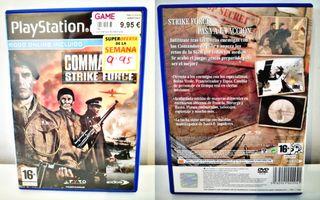 Commandos Strike Force Para PlayStation 2