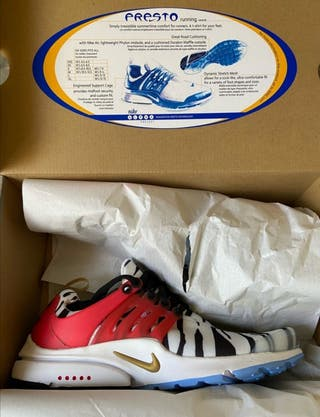 "Nike Air Presto ""South Korea"" Talla S"