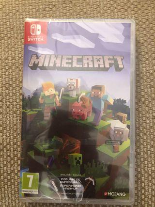 Minecraft para Nintendo Switch SIN ESTRENAR