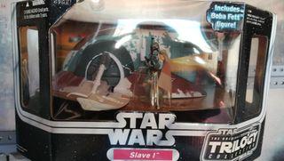 star wars trilogy collection slave I Hasbro