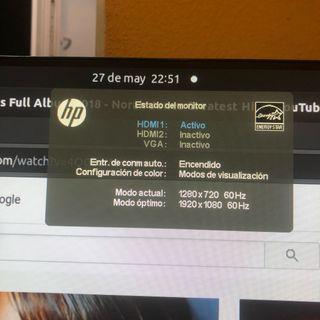 "PANTALLA 27 "" LED IPS FULL HD"