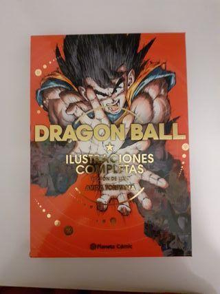 libro Dragon Ball Ilustraciones LUXURY EDITION