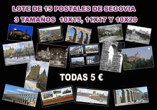 15 postales de Segovia