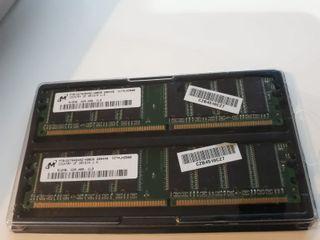Micron DDR 512MB - 400Hz - MT8VDDT6464AG-40BDB x2