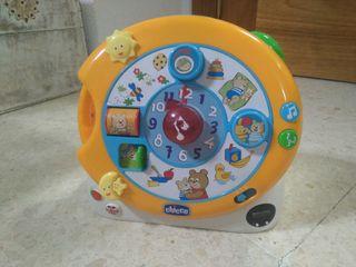 Reloj bilingüe para bebé Chicco