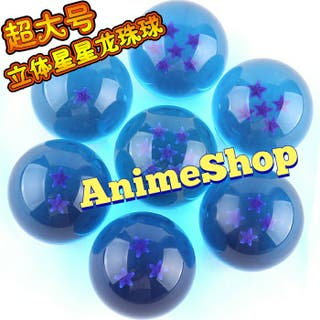 BOLAS AZULES ANIME DRAGON BALL 3'5 CM