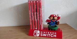 Organizador videojuegos Nintendo Switch