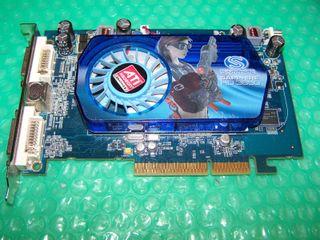 Ati Sapphire HD3650 AGP 512MB DDR2 Dual DVI + TVO