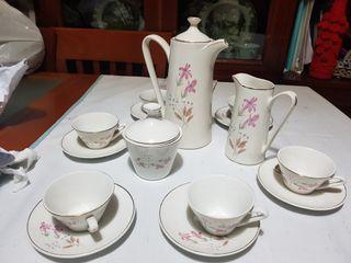 Juego de café porcelana San Claudio