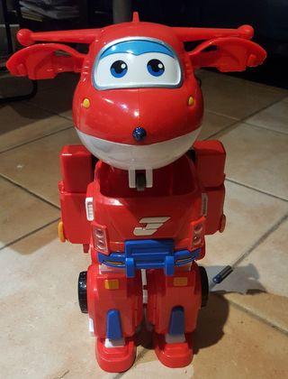 Juguete infantil Super Wings y robot