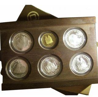 1996 Patrimonio Mundial: Estuche Cto. 6 monedas