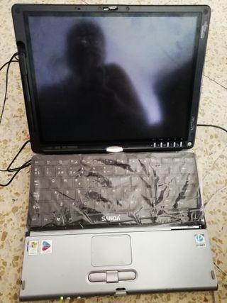 portatil con pantalla tactil