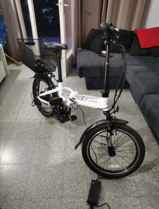 bici plegable y electrico