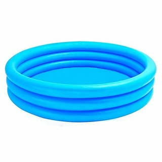 Piscina hinchable redonda 114 x 25 cm azul NUEVA