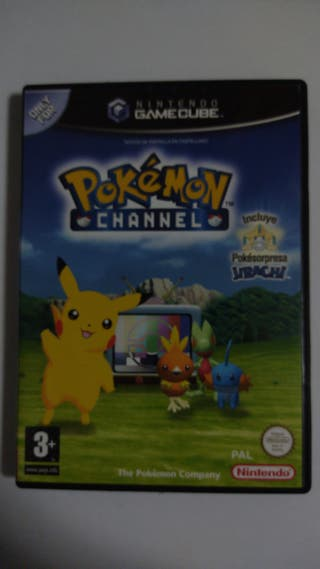 Pokemon Channel Nintendo GameCube NGC