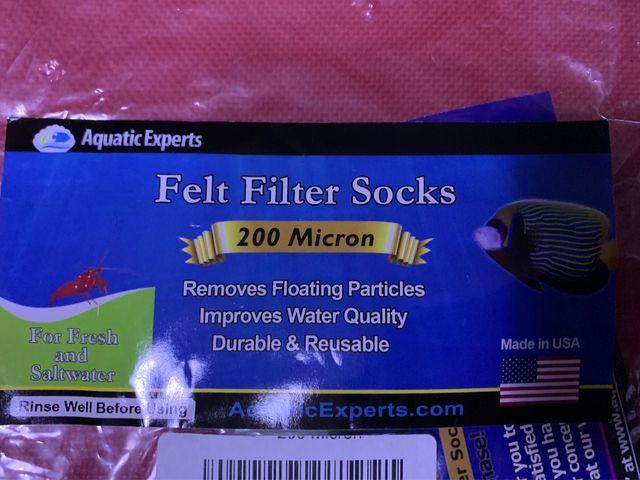 Calcetines de acuario de 200 micras