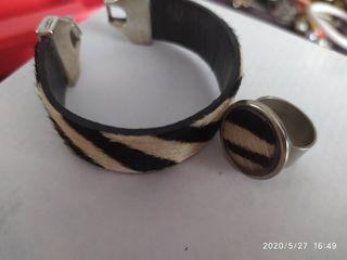 conjuntos de anillos y pulseras, collar y pulsera