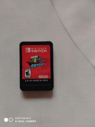 super Mario odissey switch