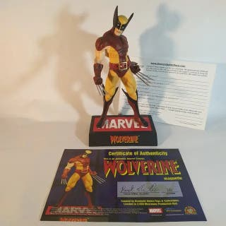 Estatua Resina Wolverine Maquette Diamond Select