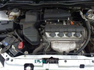 Motor D16v1 Honda Civic 01-05r Vii 1.6