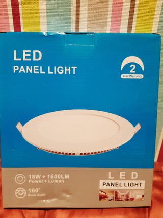 LED, panel, lámpara,