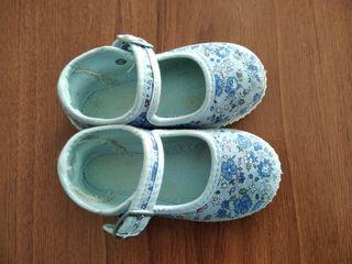 zapatillas de lona talla 22