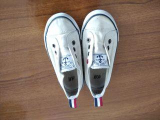 zapatillas de lona talla 24