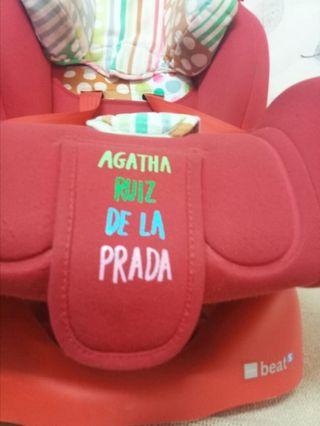 sillita bebé Agatha Ruiz de la Prada