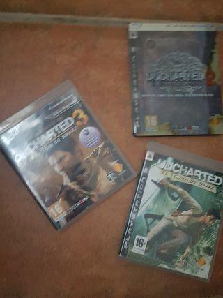 Uncharted 1 - 2 - 3 EDICIÓN ORIGINAL