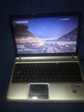 Portátil HP dv6, core i5