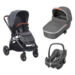 Coche de paseo trío bebe confort adorra