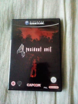 JUEGO RESIDENT EVIL 4 PARA GAMECUBE VERSION PAL
