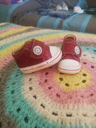 zapatillas bebe talla 16