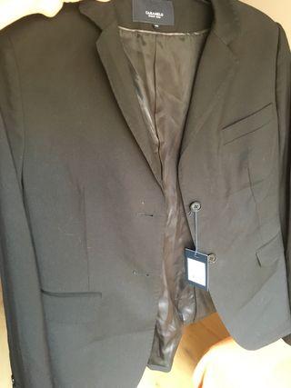 chaqueta americana negra