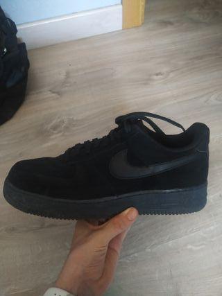 Nike air forcé 1 negras especiales