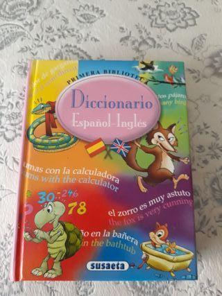 Diccionario Español Inglés para niños