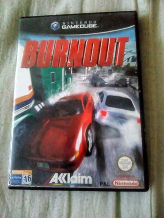 GAMECUBE JUEGO BURNOUT VERSION PAL COMPLETO