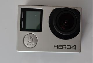 GoPro 4 Hero Silver con Accesorios