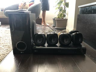 Home cinema, altavoces, música