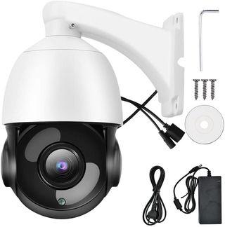 Camara vigilancia 5Mp exterior zoom 30x Infrarrojo