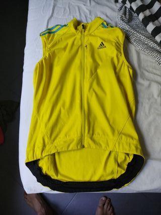 maillot cortavientos Adidas ciclismo talla S M