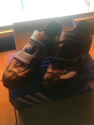 Zapatillas ciclismo rockrider calas
