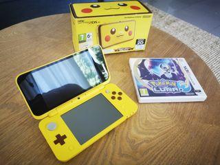 New Nintendo 2DS XL (Pikachu Edition) + 4 Juegos