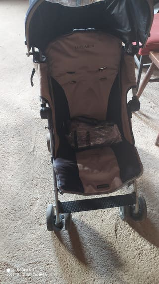 silla Maclaren plegable y ligera con plástico lluv