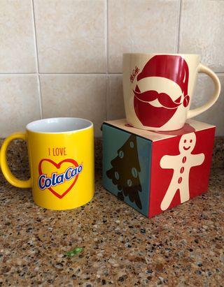 Lote 2 tazas mugs